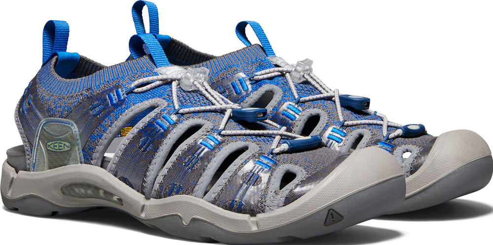 Keen Evofit One - Sandalias Hombre - gris/azul US 10,5